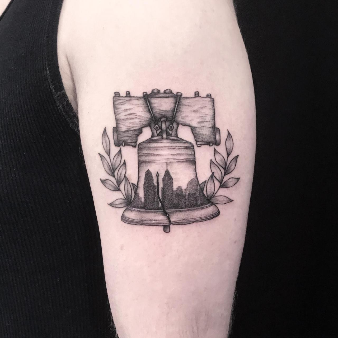 Got my city pride on my arm this past week. By Alexis Fish @ Third Season Tattoo in Lansdale, PA.