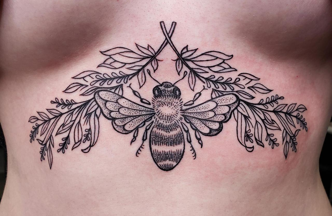 My new sternum piece! NSFW
