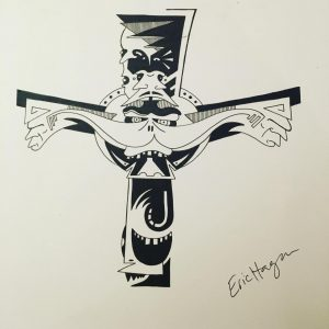 Celtic Cross I just drew for someone