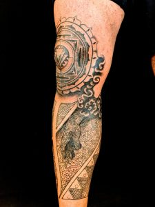 My Leg Sleeve by Ben Hoteling @ The Missing Piece, Spokane WA.