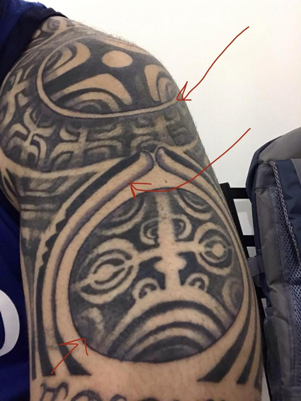 """Is it normal to not sweat as much with """"healed"""" tattoo? I made a post a while back - my tattoo had a hard time healing, doc prescribed meds (betamethasone and dermovate) but now when I work out, seems like my arm doesn't sweat much.. causes?"""