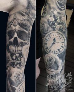Ashley's Arm // by Daniel Gray of Daniel Gray Tattoos // Cincinnati OH