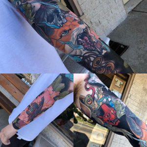A little collage I made of my arm that I finished a few months ago :)