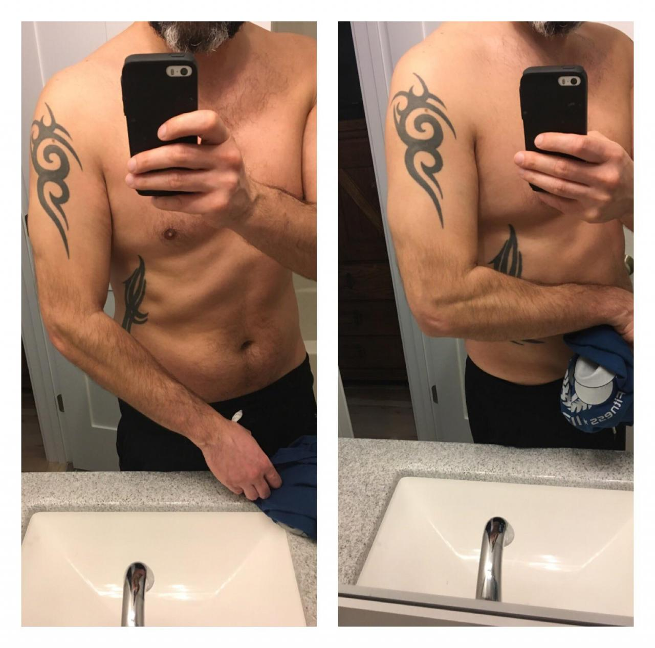 For the longest time I disliked the tribal tattoo on my arm. It has no significance to me and was a dumb move by me. Seriously thinking about doing a 1/4 sleeve cover up. Wondering what you all think. Does this look as shitty as I imagine it looks? Rather than cover up should I add to it instead?