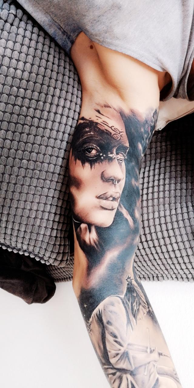 My inner arm Tatt. Done by Kober Daniel in Graz.