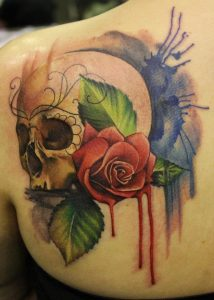 Absolutely Fabulous Colorful Tattoos Designs
