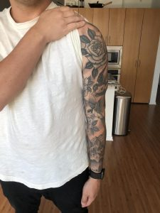Whole Arm done by Nick Wallerstadt at Triple Crown Tattoo, Austin TX