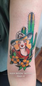 My first arm tattoo done by Willie Rules at High Noon tattoo in Phoenix, Arizona