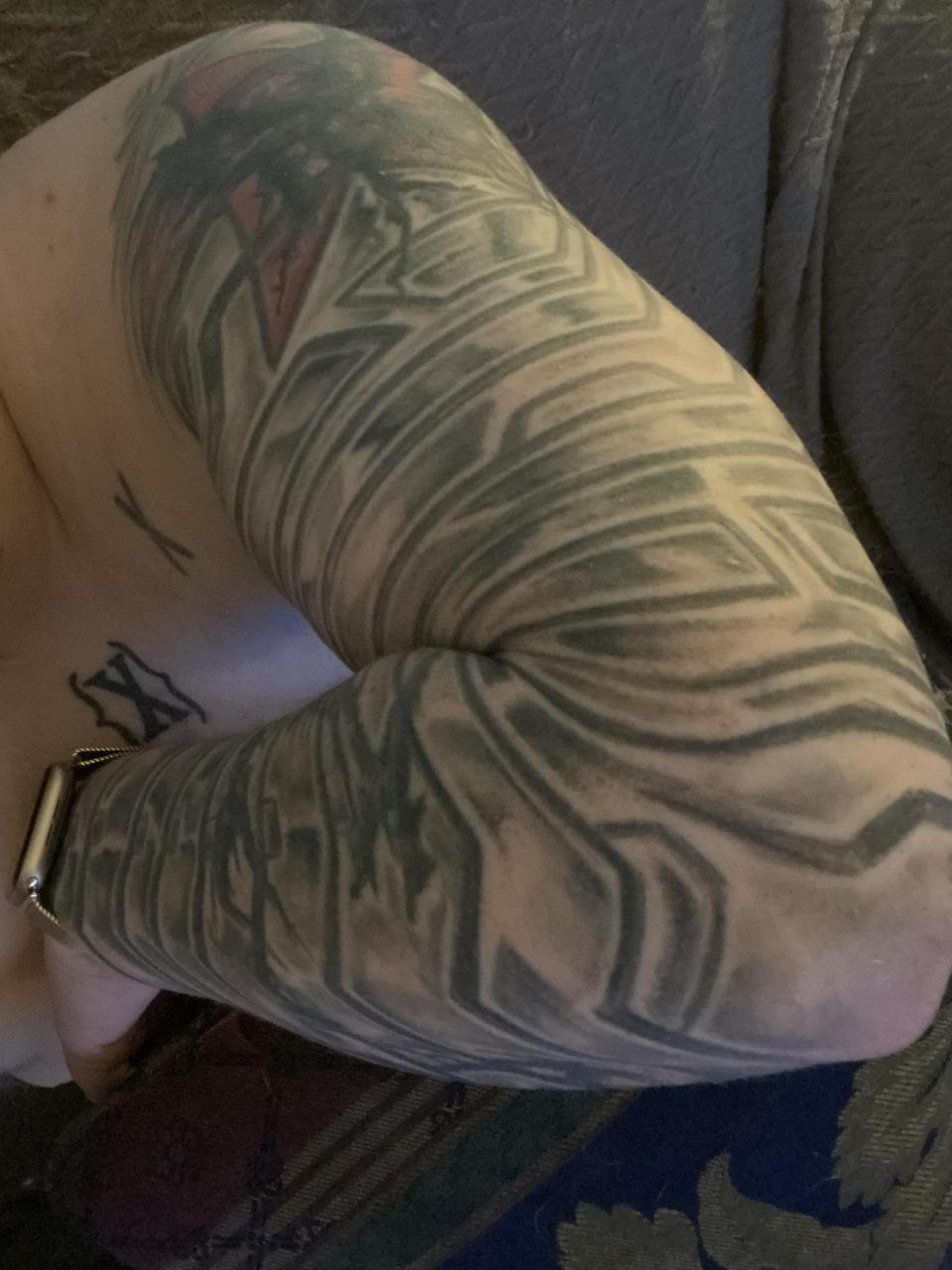 Winter Soldier arm - in progress, almost done! - Mack Young, Nighthawk Tattoo, Guelph ON