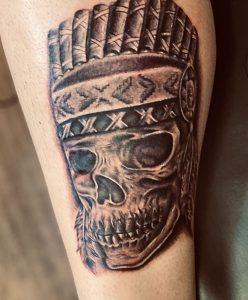 The start of my leg sleeve. Done by Alex Zamora @ The Tattoo Shop Orem Ut