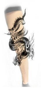 Soon i'll have this badboy around my left leg. What do you guys think?