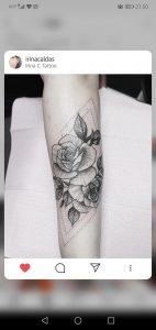 My third flower piece of my arm, sleeve on the way, by Irina Caldas, Irina C Tattoo