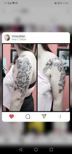 The second flower piece of my arm, sleeve on the way, by Irina Caldas, Irina C Tattoo