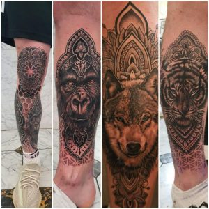 Was asked to post some updated pics after my next session on my leg sleeve! Turns out people were not wrong about the knee cap being a challenge! Work done by josh at ravenskin on the isle of wight