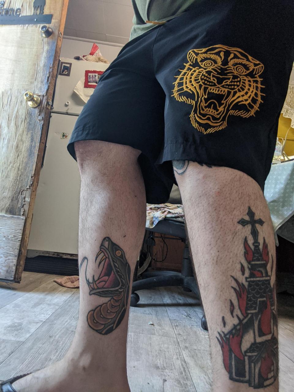 Here are my legs by B. Huntington Rites of Passage/Saskatoon CA