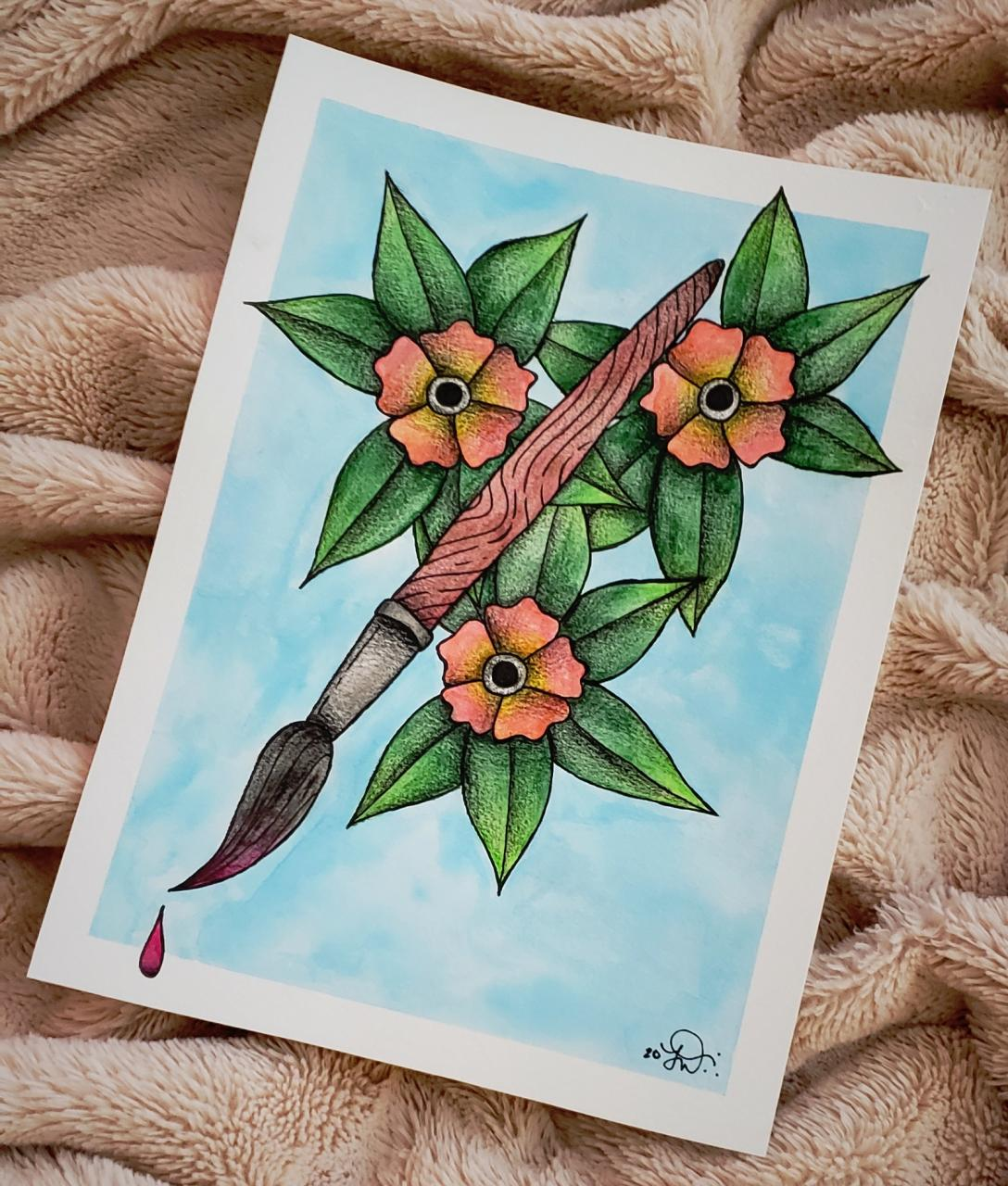 Kinda wanna get this on the back of my forearm as somewhat of a wraparound. Love it!