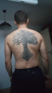 Looking for ideas to add to my Backtattoo. Im feeling like its missing something.