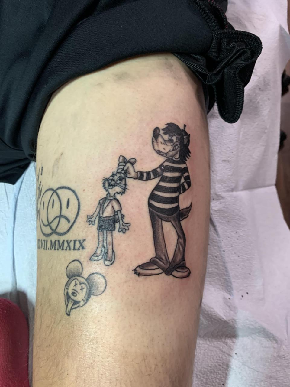Nu Pogodi Tattoo done by Alina at Fresh Ink Kanata! Love this piece so much!