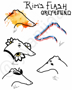 My (19,f) first tattoo flash-sheet. I absolutely love greyhounds, and tattoos. Decided to practice a little and made my first ever flash sheet! I hope ya'll like these cute boys as much as I do. Ps; What's your fav?