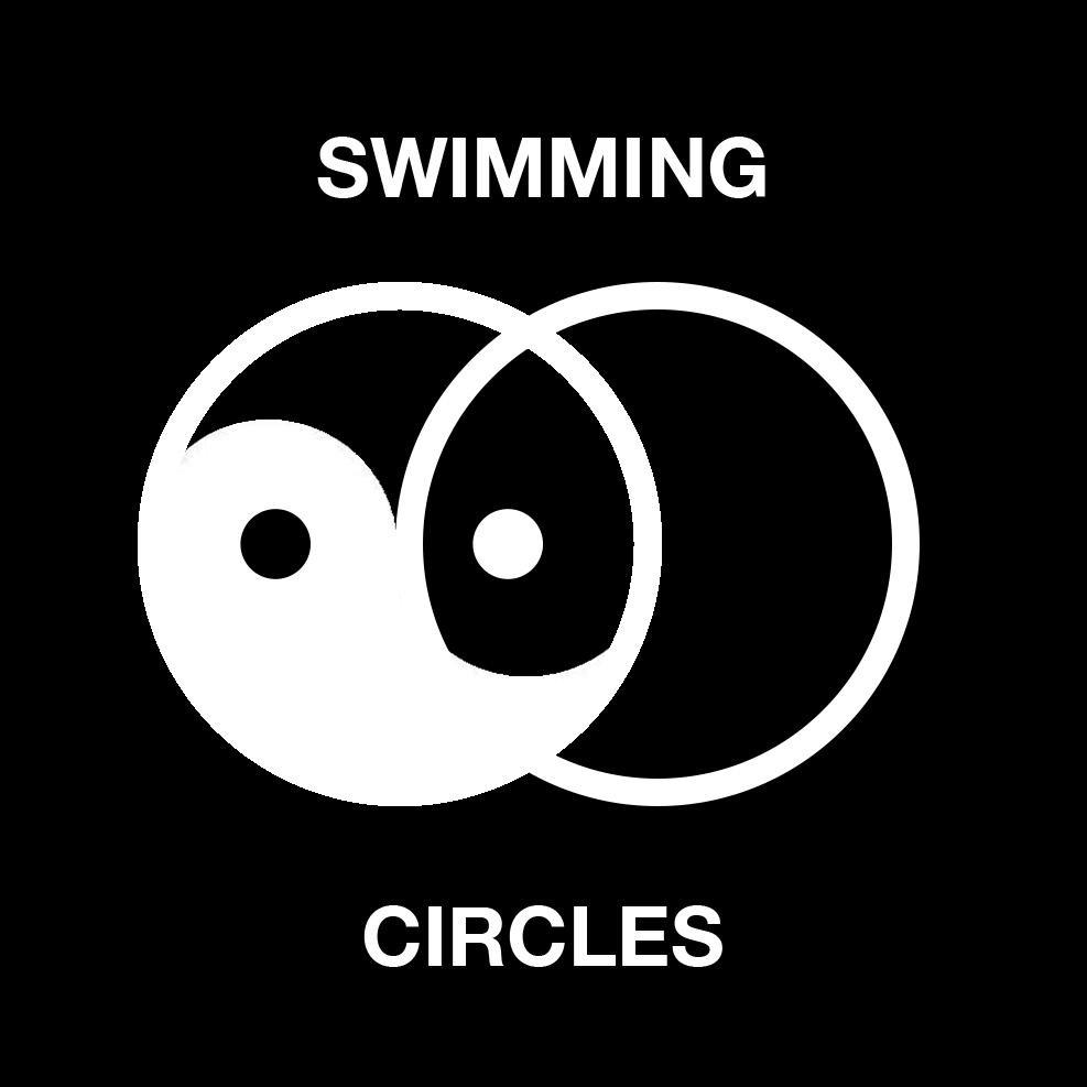 Could someone help me draw a tattoo for the upper forearm with the Circles Logo incorporated with waves on the bottom and fog above it?