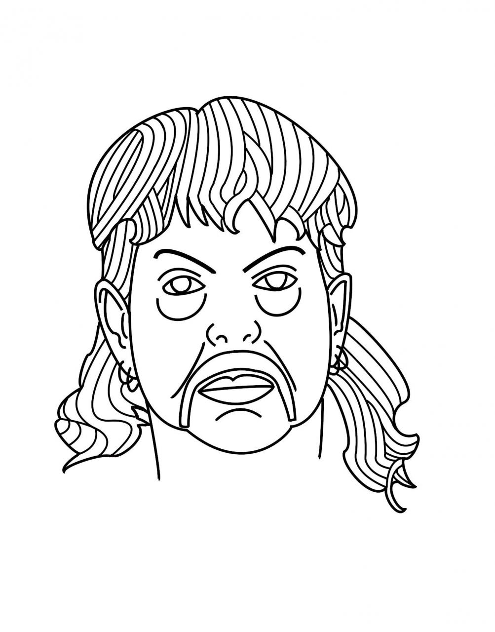 Looking to get into tattooing and I've been playing about in photoshop to make this lil Joe Exotic, what do you guys think? I'm not much of a realism guy.