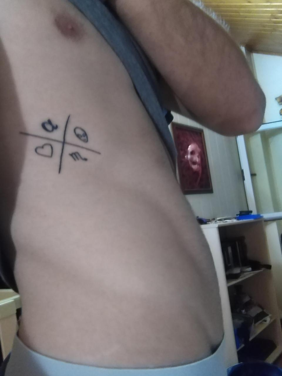Done in Meridian Tattoo, Ponferrada, Spain. Does this kind of symbol has a name? I bet u seen it in many ways