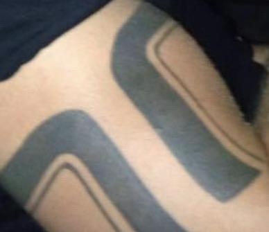 Bicep arm-bar tattoo significance, any particular meaning or association with specific community/culture?