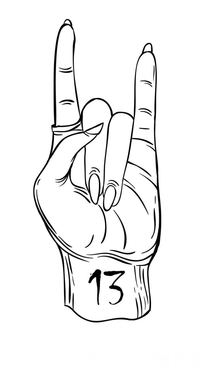 I'm a fan of Friday the 13th themed tattoos (not the movies). Have designed a few today.