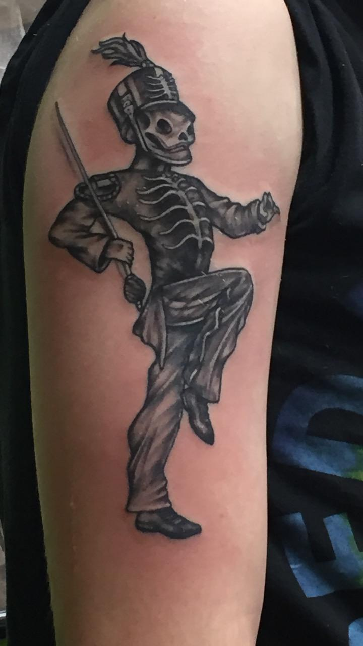 "Got this back in December of 2019 as my first ""real"" tattoo after having done a few small ones of my own. (Artist is @johnnyink on instagram and is located in Jackson, MS)"