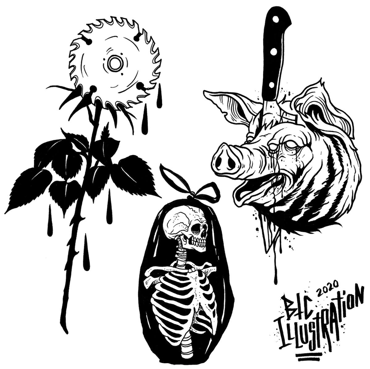 Thanks for the love on the previous flash sheet! Here's another, thanks for looking!