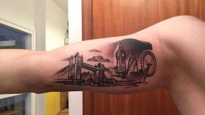 London is my fav city in the whole world. That's why I put it on my arm