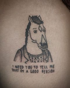 BoJack Horseman Tattoos: Artists credited within