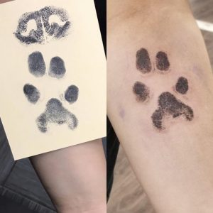 I got a copy of my childhood dog's paw print on my inner forearm. I absolutely love it and just wanted to share since I posted on this sub for advice about this tattoo a while back! :)