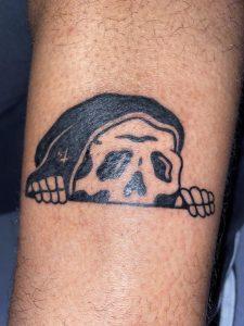 First tattoo! (Lower right leg)