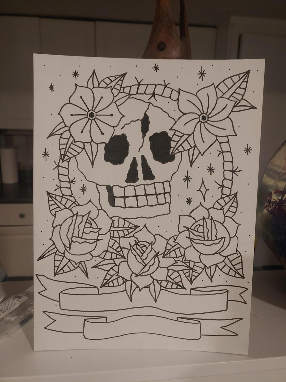 Slowly getting better at art. Dream in life is to be a tattoo artist!