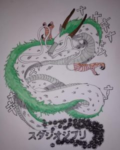 Haku-Spirited Away