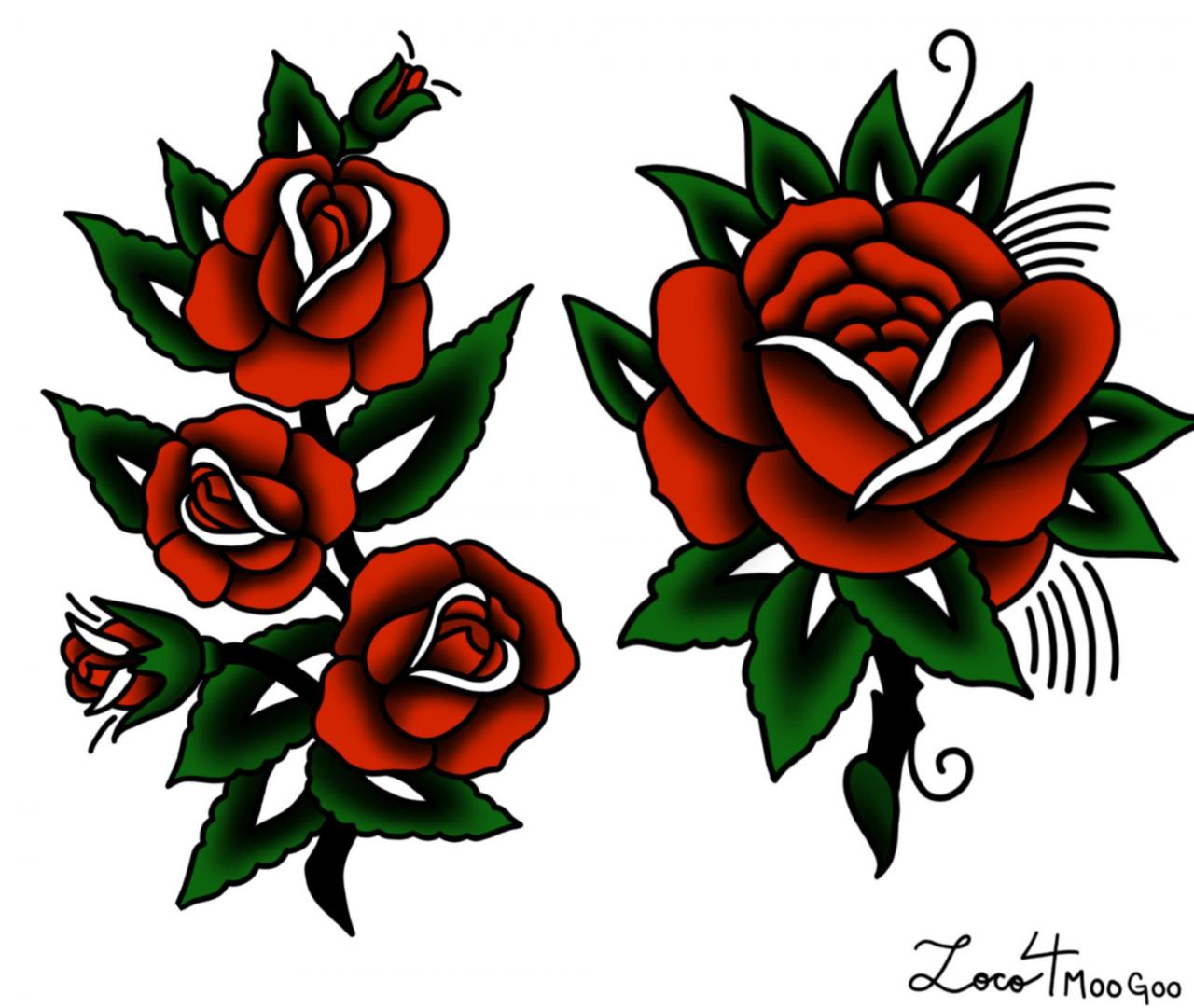 Made some Bert Grimm inspired roses on Procreate today! Beginner artist, critiques welcome.