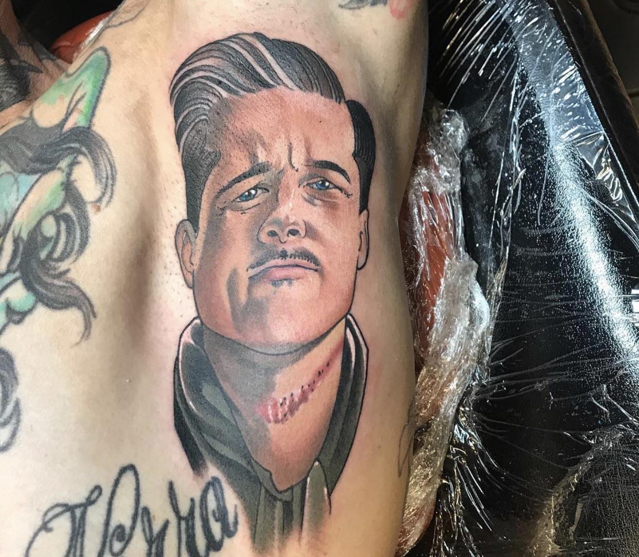 My Brad Arm Pitt by Aaron Riddle of Phoenix AZ