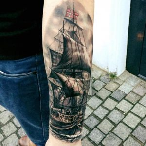Any suggestions to what i should get om my upper arm that fits in with my current ship?
