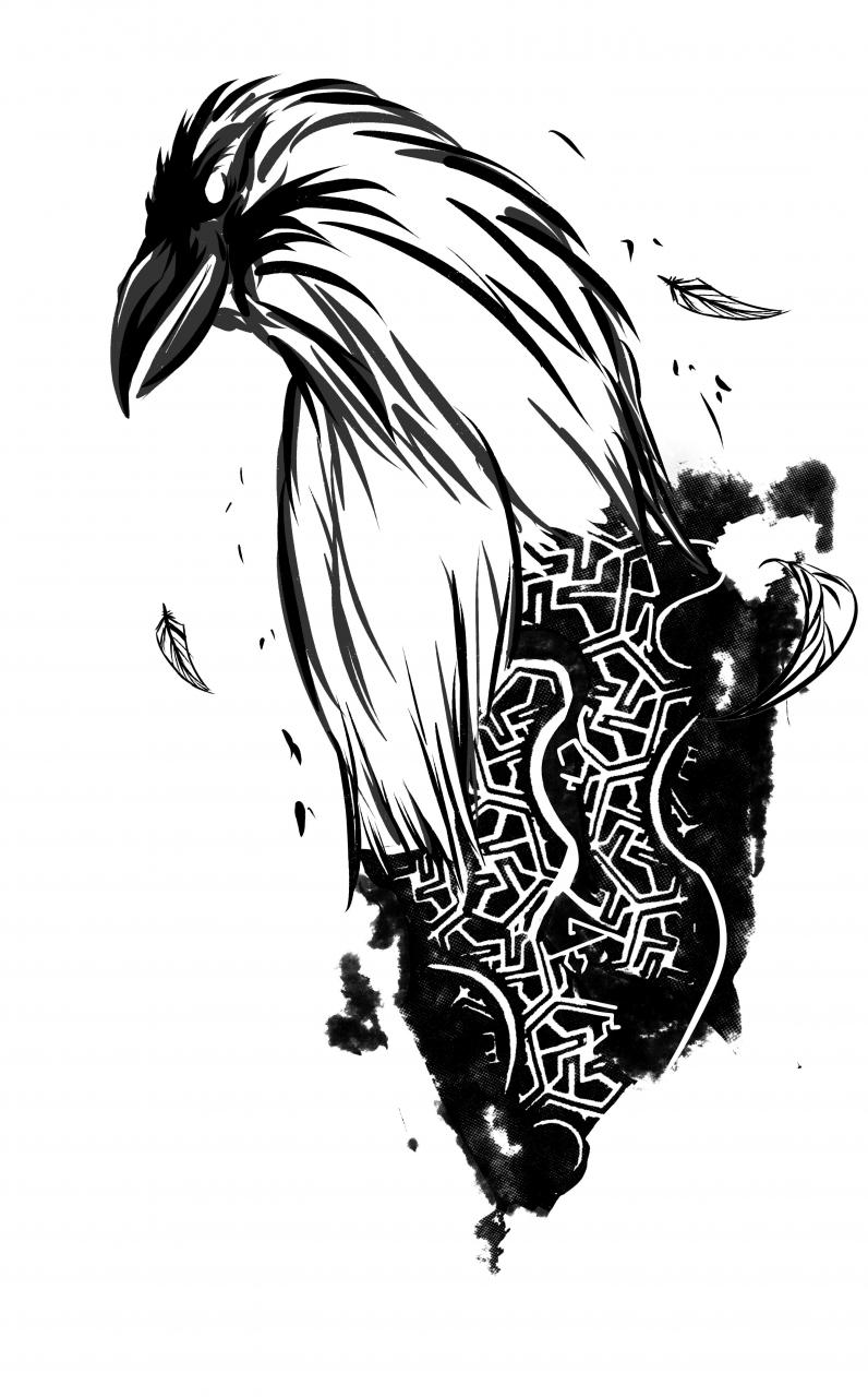 Hey everyone! I've made this art for a commission and im really proud of it. I would like to work on more tattoo designs. I hope i have luck here