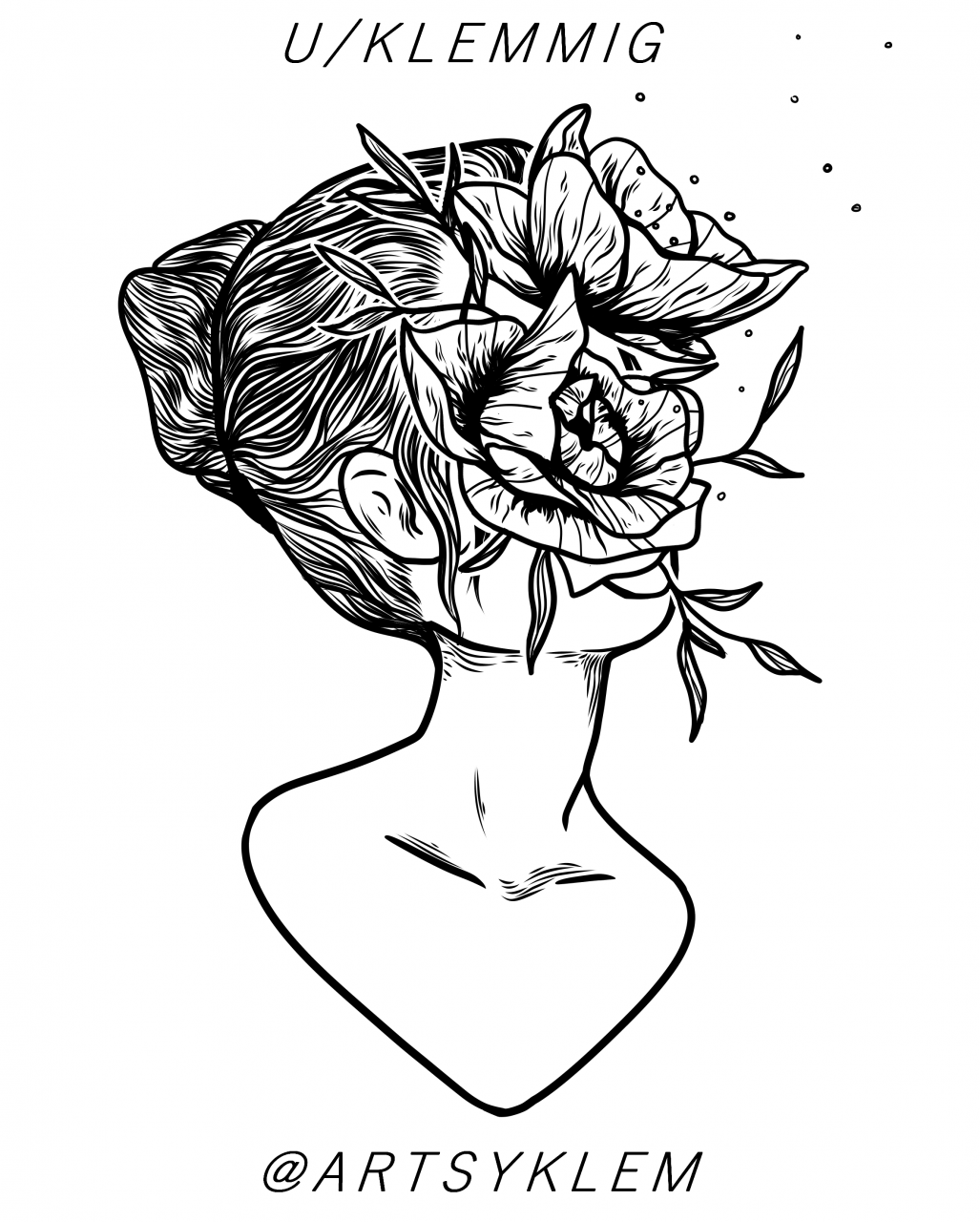 Another flowerlady. Where on the body do you think this would work the best?