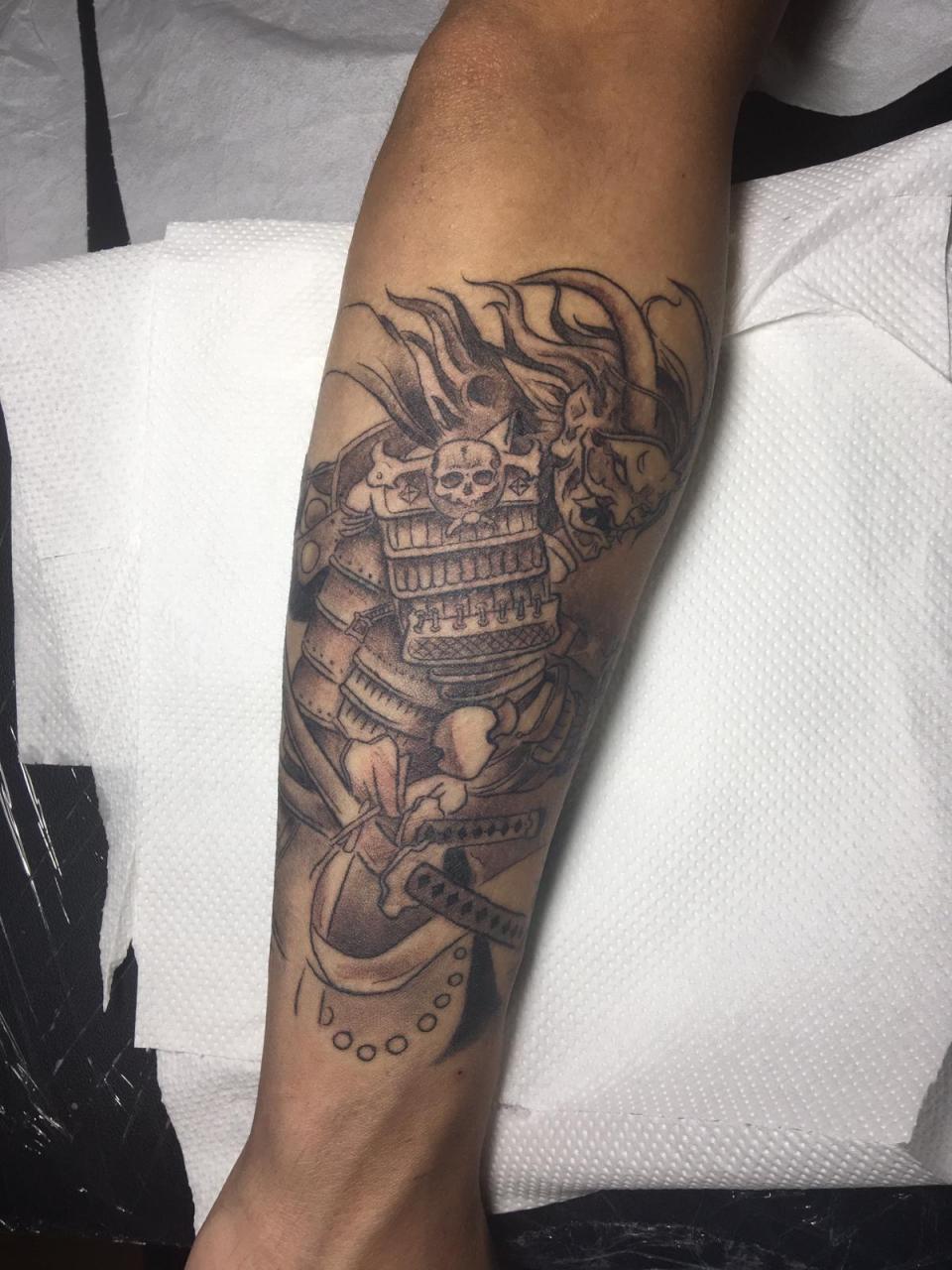 Latest tattoo ,done by thefakebrush