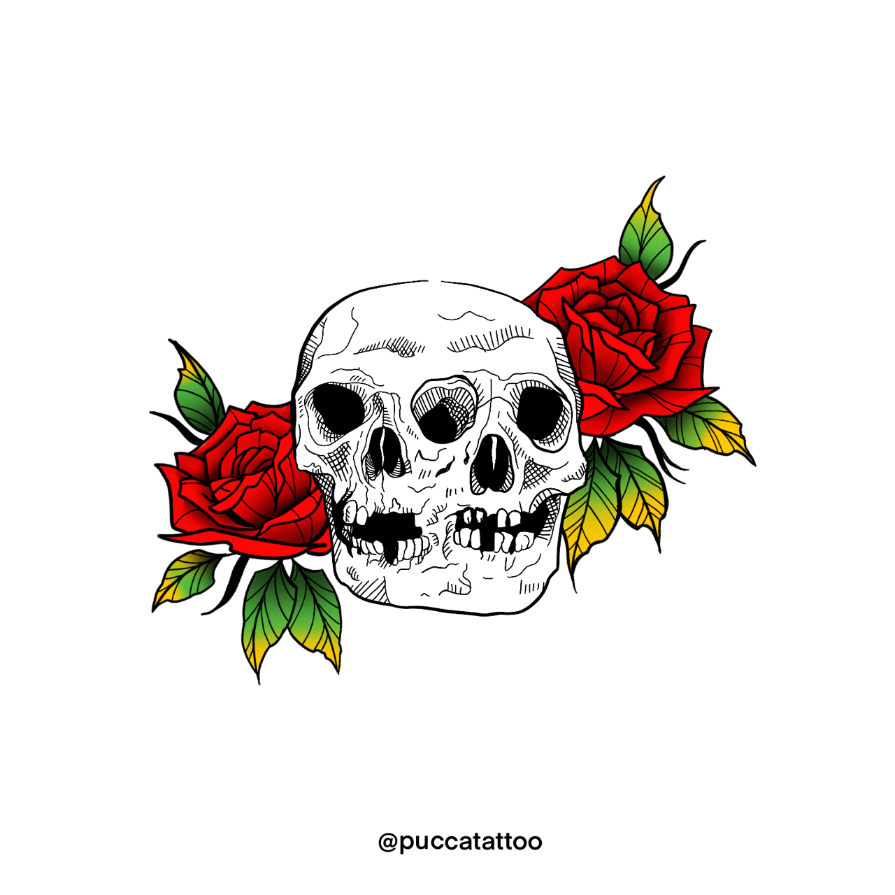 [For Hire] Recent tattoo design I have worked on for a cliente! Any thoughts? Comissions open!