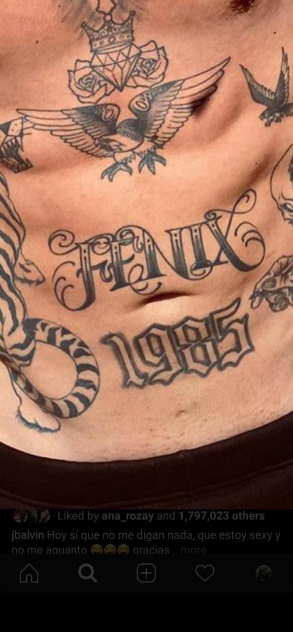 """Can anybody tell me what the name of the font is for the """"FENIX"""" tattoo?"""