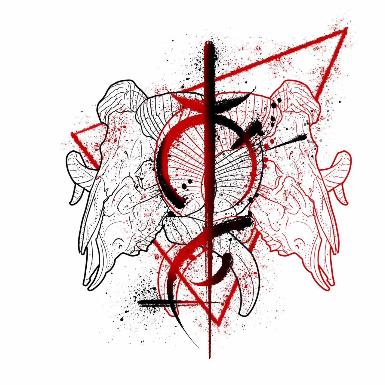 another sigil tattoo I made - I'm open for commissions - PM for custom designs
