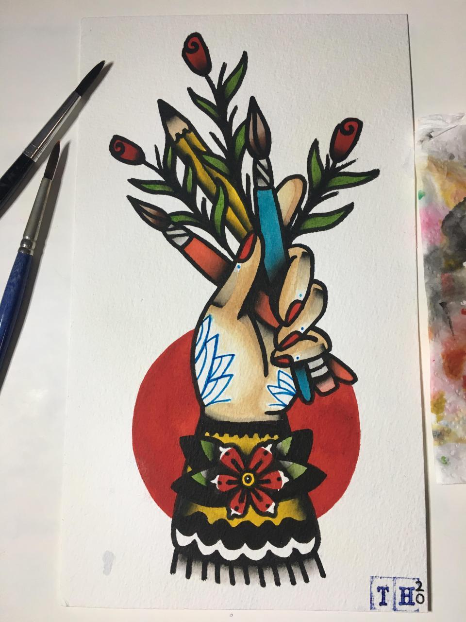 constructive criticism welcome! i am an aspiring tattoo artist