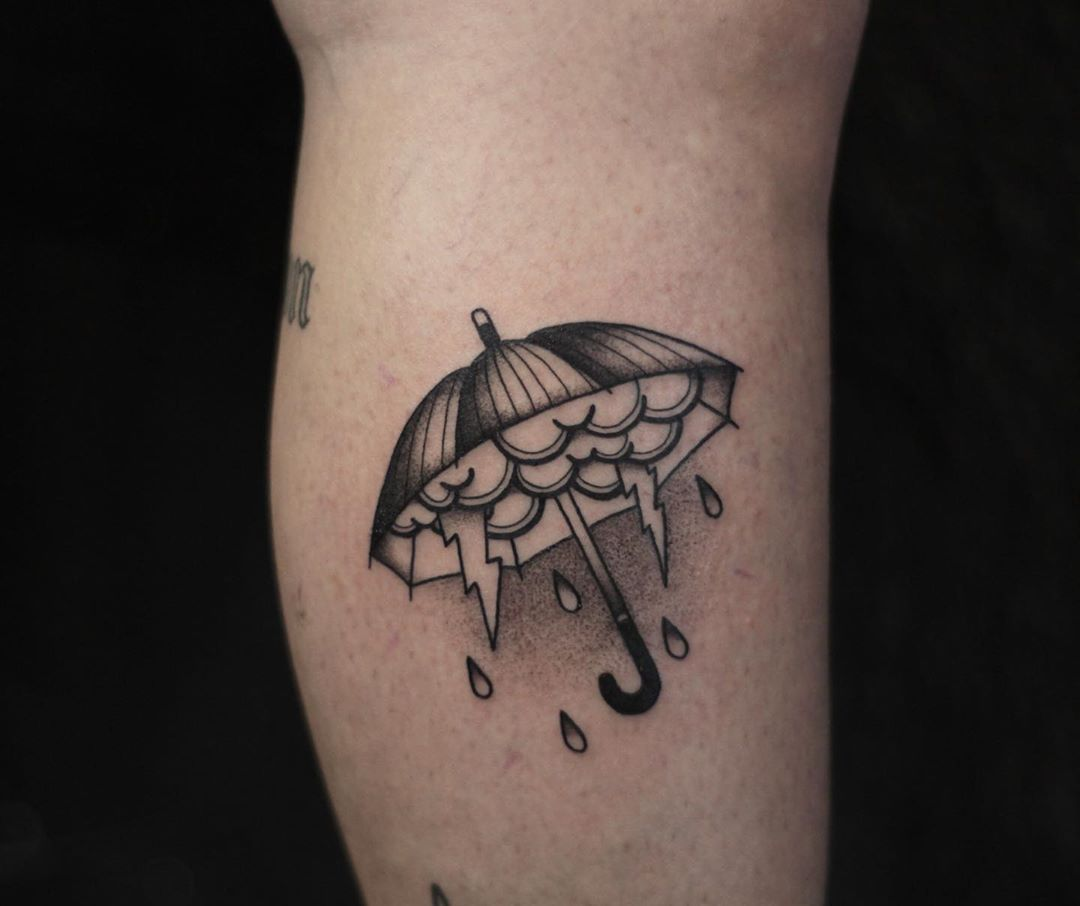 Tattoos For Pluviophiles: Artists credited within