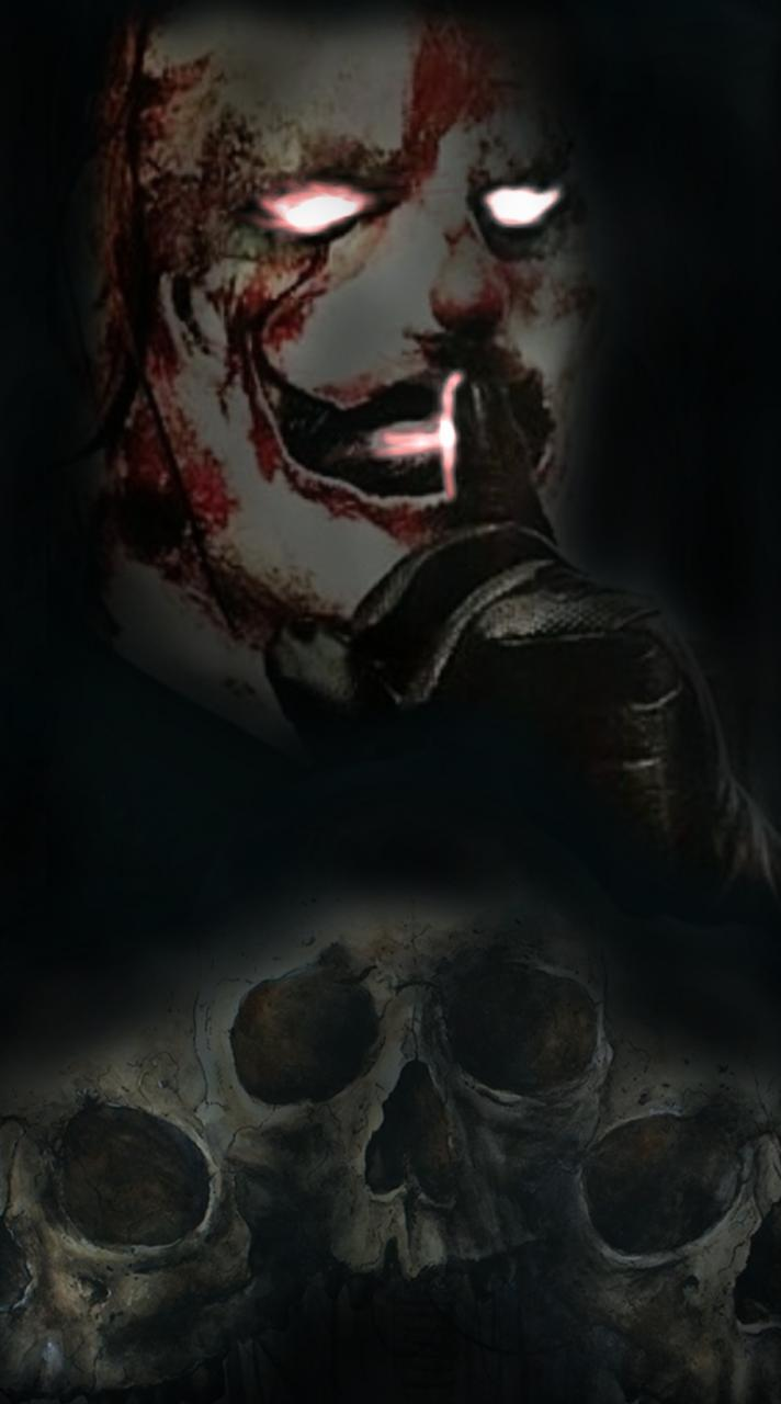 Sharing my design, think it could be a pretty cool piece. (Picture is Shawn Crahan from Slipknot)