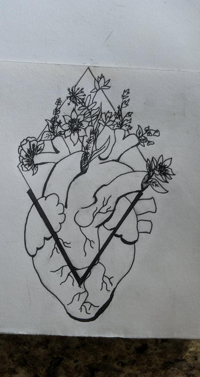 """I want something like this tattooed. A visual representation of """"grow through what you go through."""" thoughts/ideas for improvements?"""