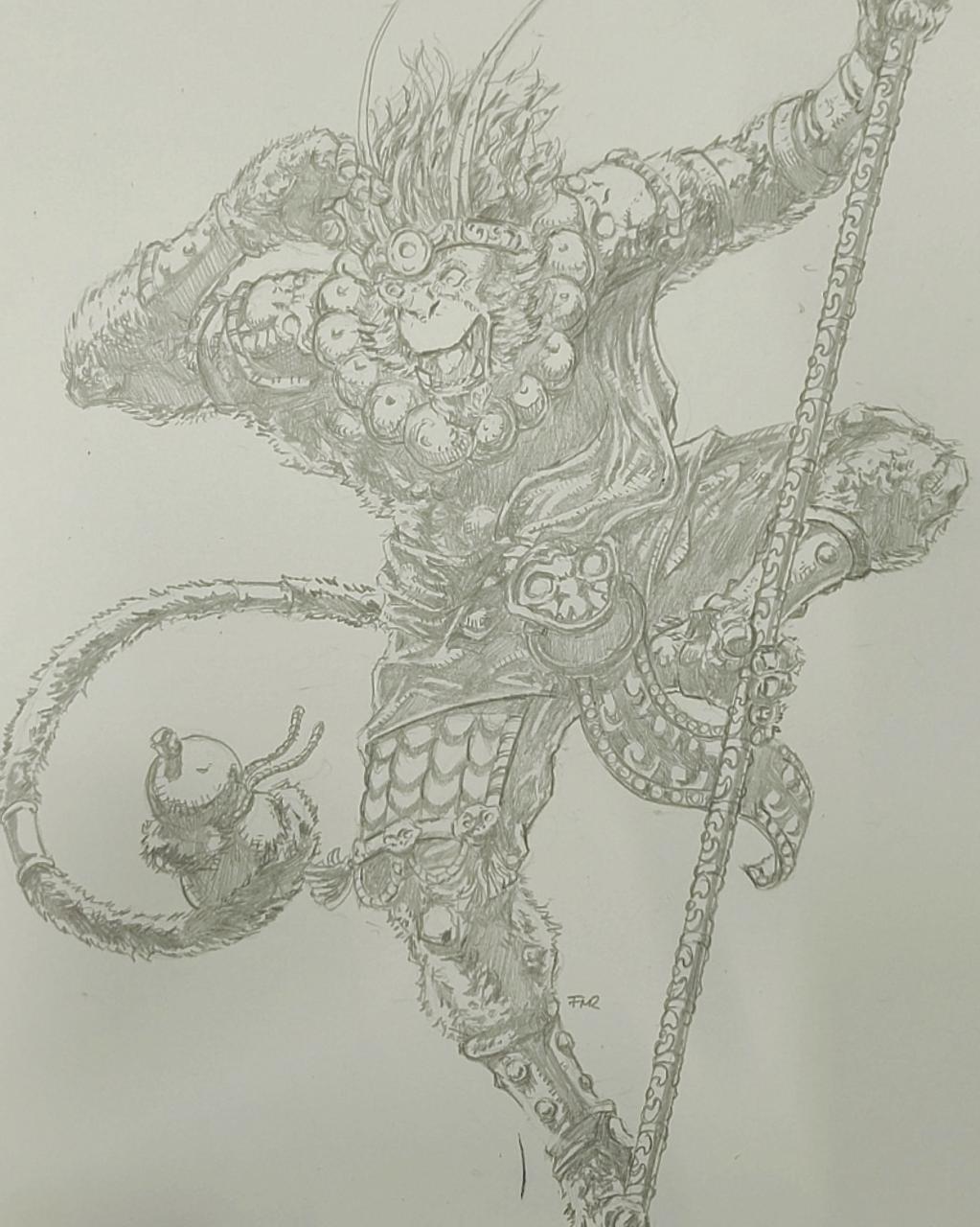 Sun Wu Kong , the Monkey King